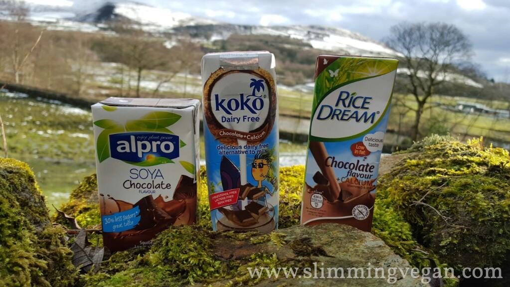 Review Vegan Chocolate Milk Slimming Vegan
